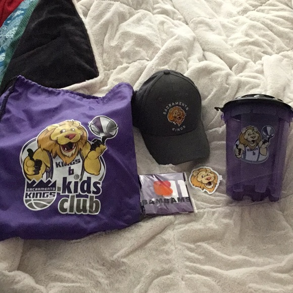 Sacramento Kings Kids Club New Merchandise bundle